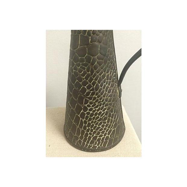 Aged Copper Snakeskin Jug - Image 3 of 5