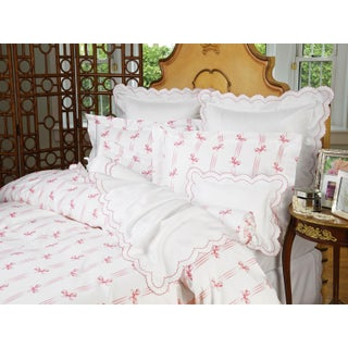 Tiffani Duvet Cover Pink in Twin For Sale