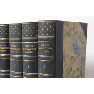 Scandinavian Leather-Bound Books S/8 Preview