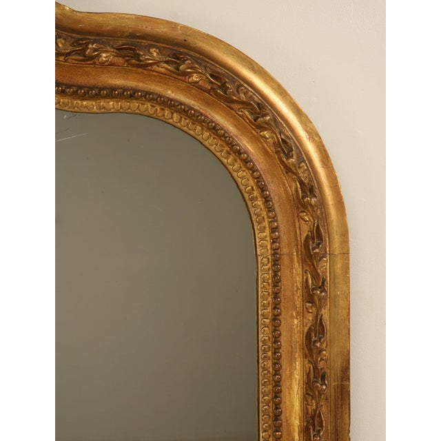 Antique French Gilded Mirror, 1800s For Sale In Chicago - Image 6 of 11