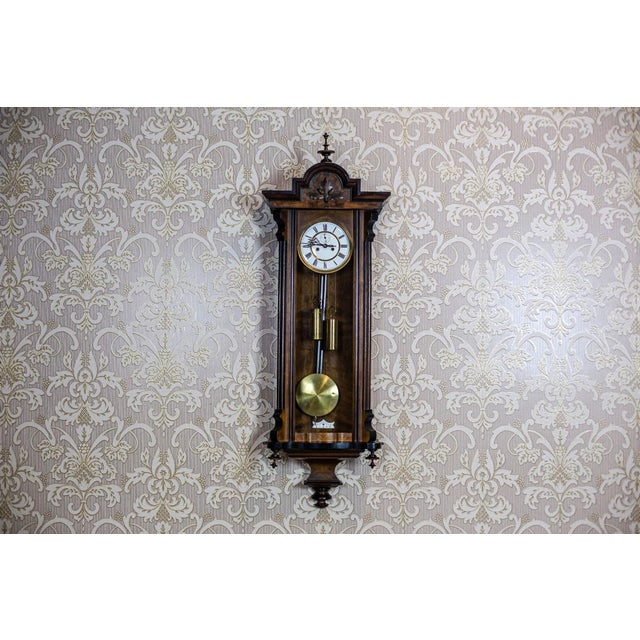 19th-Century Wall Clock For Sale - Image 13 of 13