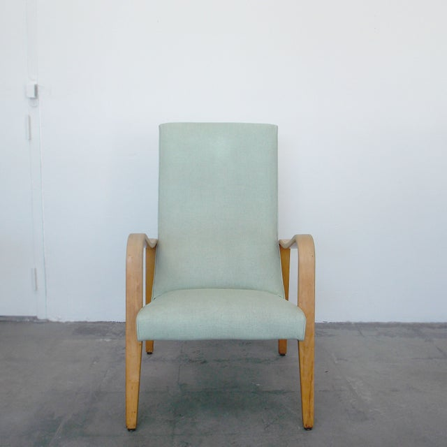 Thonet High Back Lounge Chair - Image 3 of 11
