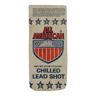 Heavy Canvas All American Lead Shot Bag