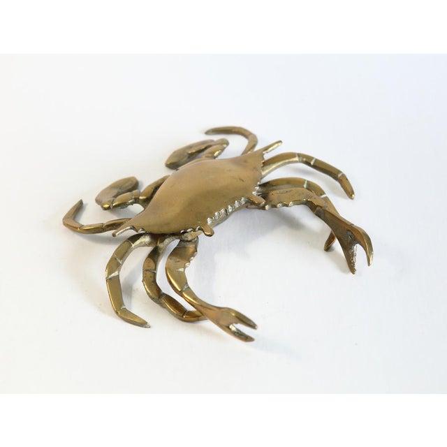 Vintage Brass Crab Figurine - Image 5 of 6