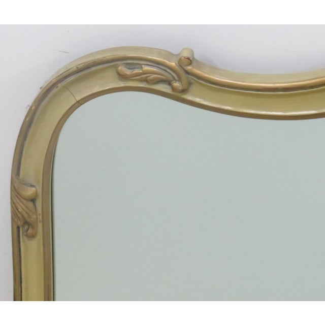 French Provincial Style Paint Decorated Mirror - Image 4 of 6