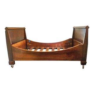 Antique Twin Sleigh Bedframe For Sale