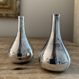 Dansk Silver Plated Onion Candleholders- a Pair Preview