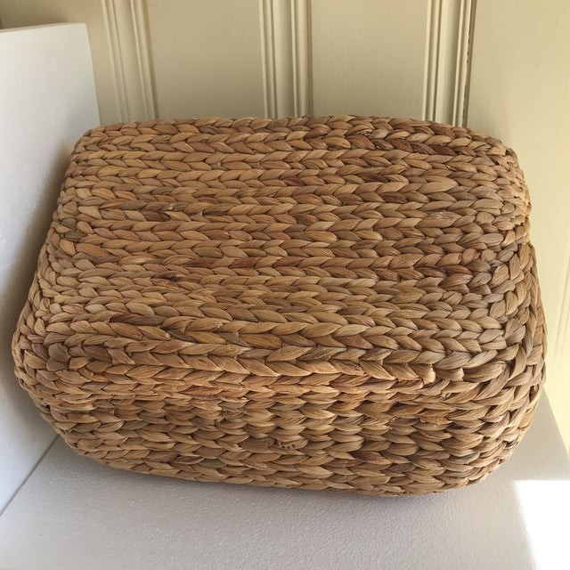 Boho Seagrass Rope Basket - Image 6 of 8