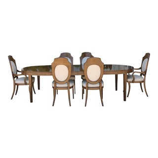 Mastercraft Burlwood Dining Set For Sale
