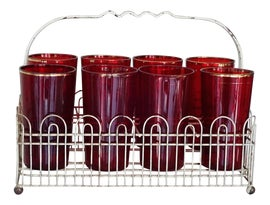 Image of Ruby Red Glasses