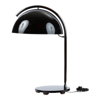 American-Made Table Lamp With Mushroom Shade For Sale