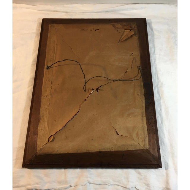Antique Mahogany Mirror - Image 7 of 7