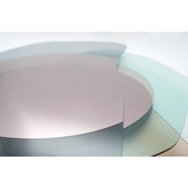 Glass Glass Repeated Mirror I by Oskar Peet and Sophie Mensen For Sale - Image 7 of 8