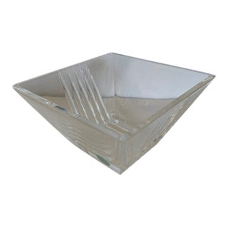 Tiffany & Co. Crystal Trinket Bowl For Sale
