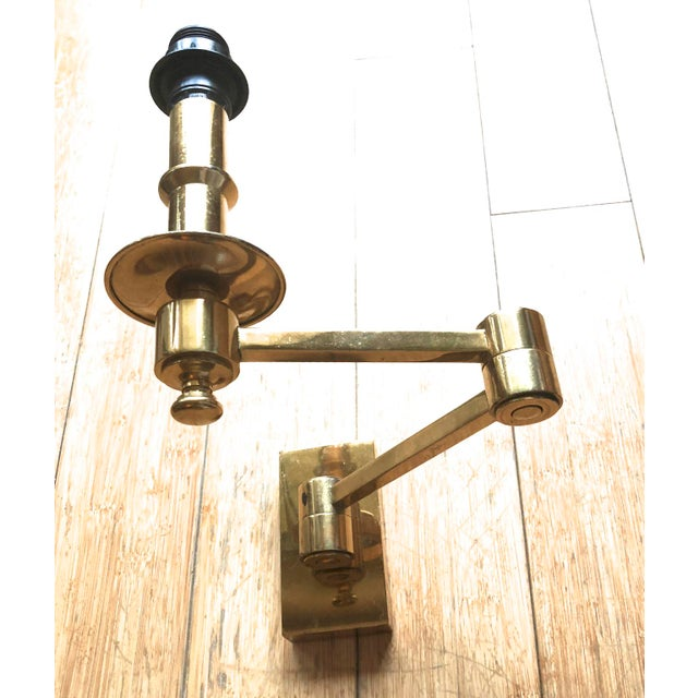 1950s Maison Jansen Pair of Extendable Sconces For Sale - Image 5 of 7