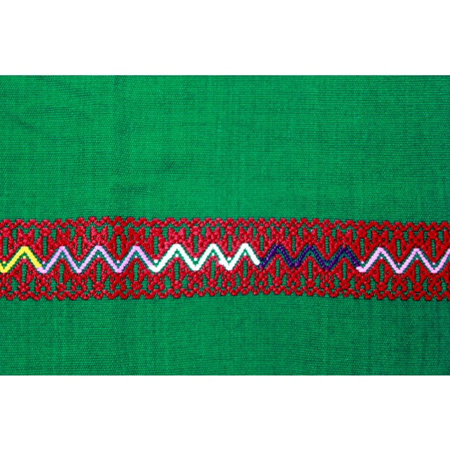 Hand-Woven Chiapas Placemats - Pair For Sale - Image 5 of 7