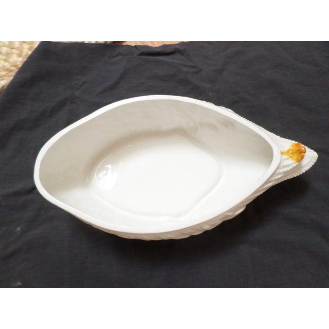 Black Mottahedah Glazed Porcelain Duck Tureen For Sale - Image 8 of 12