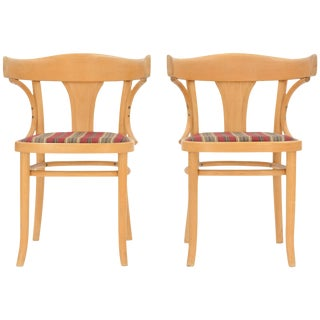 Austrian Bentwood Chairs by J & J Kohn - a Pair For Sale