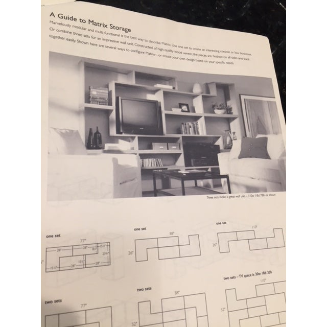 Room & Board Matrix Modular Shelving - A Pair - Image 10 of 10