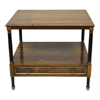 20th Century Regency Beacon Hill Rosewood Occasional Lamp Table For Sale