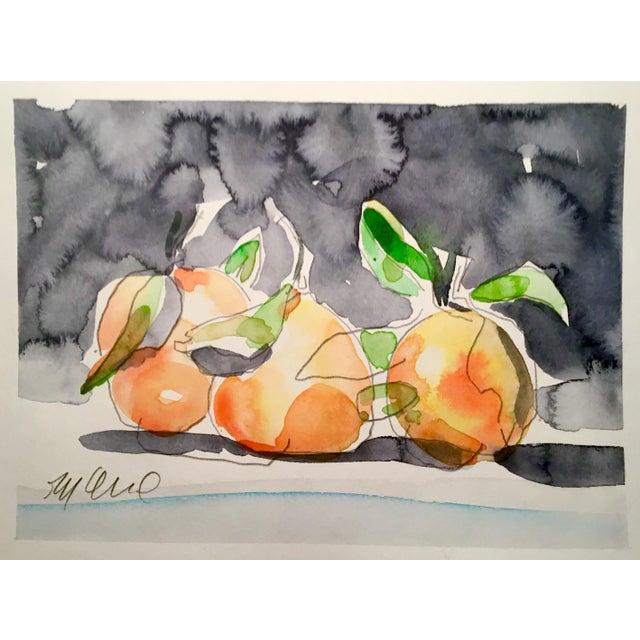 Still Life Orange Painting - Image 2 of 3