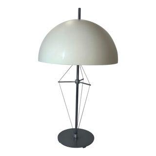 1990s Sonneman for Kovacs Industrial Mushroom Table Lamp For Sale