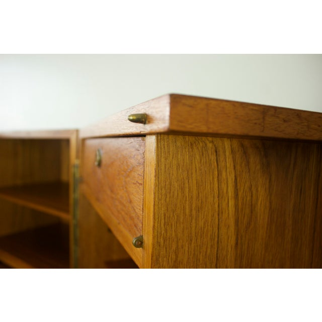 Mummenthaler & Meier Mid-Century Teak Hideaway Desk For Sale - Image 11 of 11