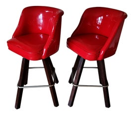 Image of High Back Bar Stools