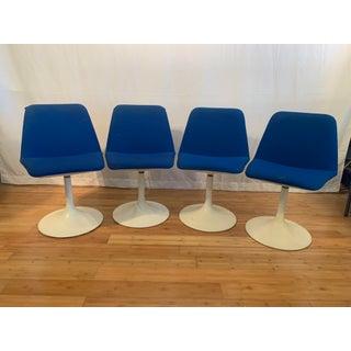 1960s Vintage Borje Johanson Swivel Chairs- Set of 4 Preview