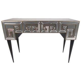 Mirrored Finish Decorator Hall Table