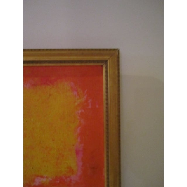 Abstract Painting Paris Signed Framed Acrylic - Image 9 of 11