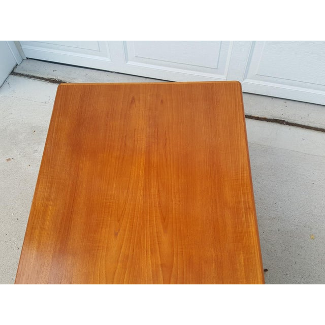 Vejle Stole Denmark Danish Modern Teak Coffee Table - Image 7 of 8