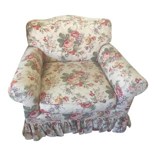 Shabby Chic Club Chair For Sale