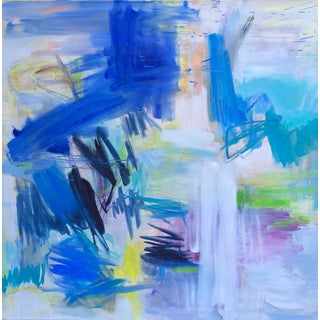 """""""Wild Weather"""" by Trixie Pitts Large Abstract Expressionist Oil Painting"""