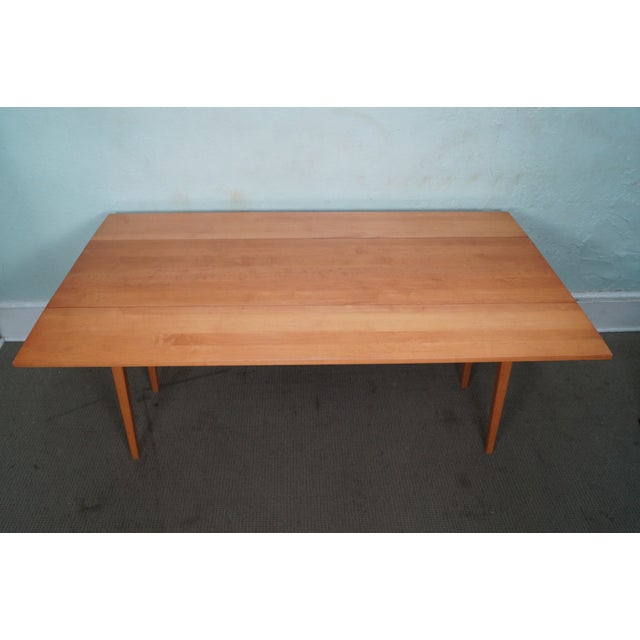 Maple Drop Leaf Harvest Dining Table - Image 4 of 10