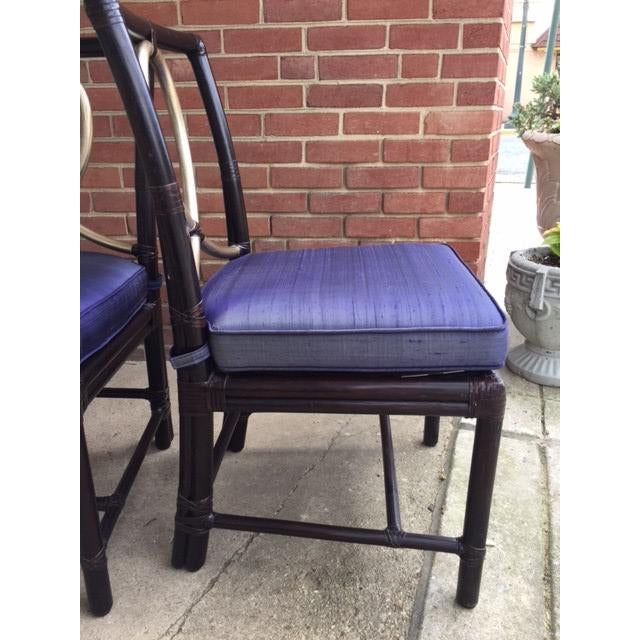 McGuire Rattan Bamboo Chairs - A Pair - Image 4 of 8