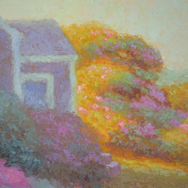 Robert Longley Rob Longley, Rosa Rugosa, Late Afternoon Painting, 2017 For Sale - Image 4 of 7