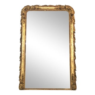 19th C. French Louis Philippe Gilt Mirror