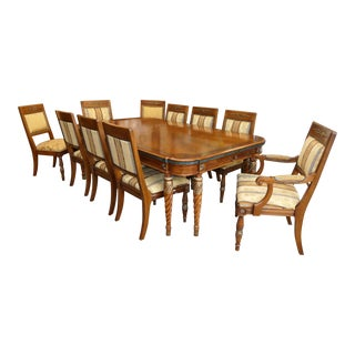 Traditional Henredon Grand Provenance Dining Set - Table Plus 10 Chairs For Sale