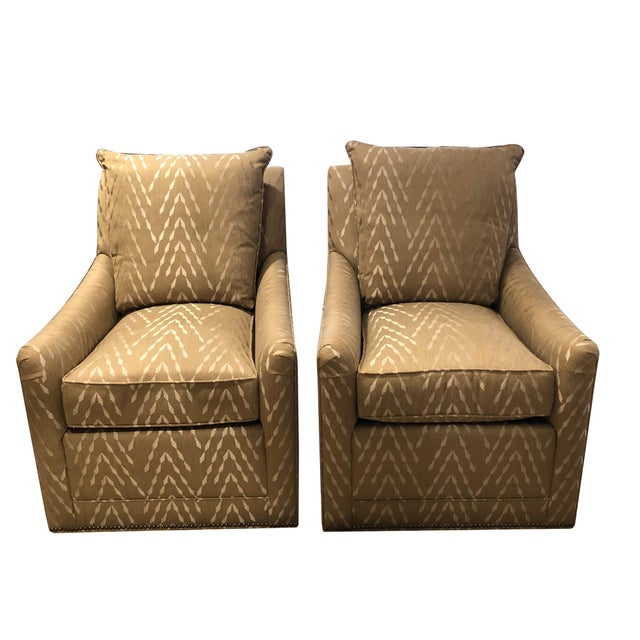 Pair of Lipkind Chairs by Tomlinson For Sale - Image 11 of 11