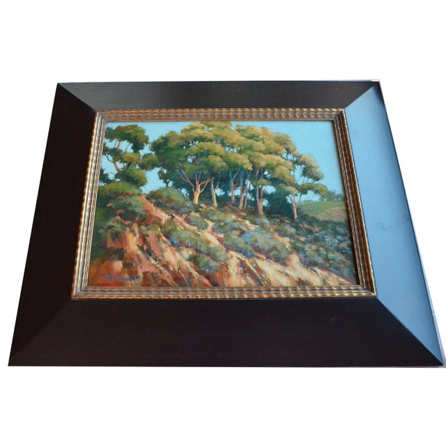 """Eucalyptas at Sunset"" by Mary Ann Ohmit For Sale"