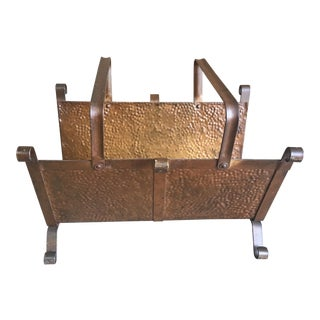 Vintage Log Carrier For Sale