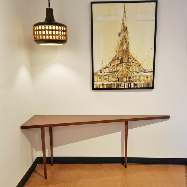 Mid-Century Modern Harvey Probber 'Nuclear Sert' Sectional Sofa and Console Table For Sale - Image 10 of 12