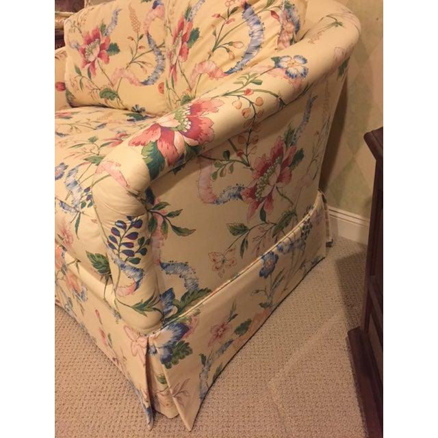 Vanguard Furniture Vintage Vanguard Floral Chintz Loveseat For Sale - Image 4 of 10