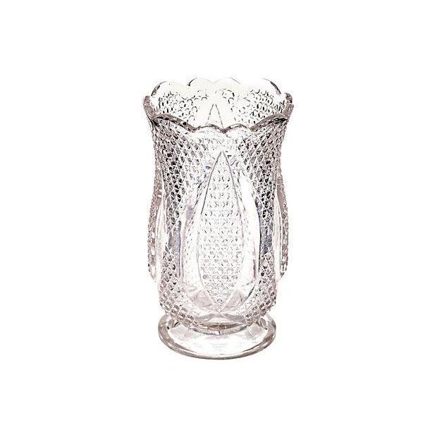 Diamond-Point Designed Glass Celery - Image 2 of 3