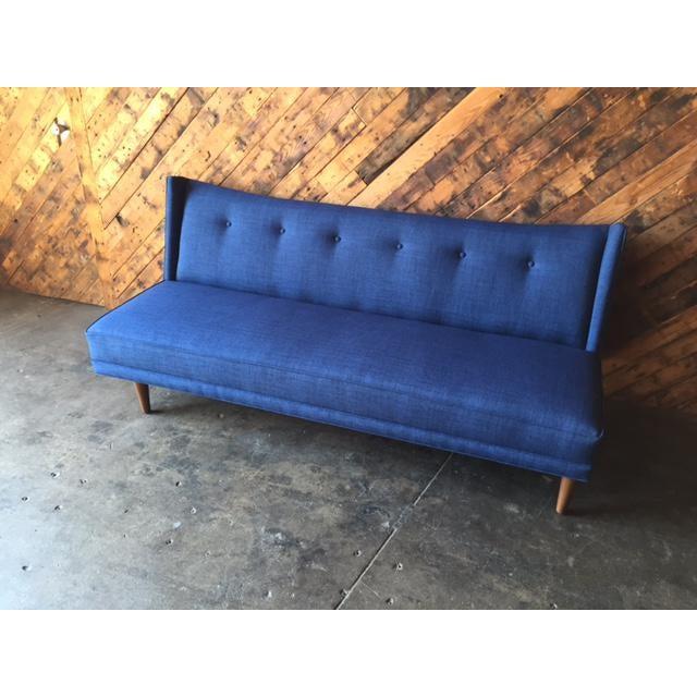 Mid-Century Style Custom Sofa - Image 6 of 9