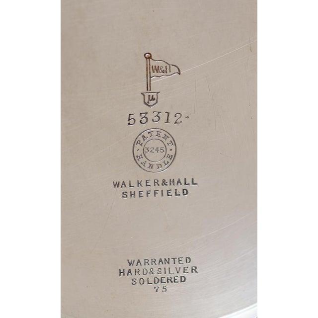 Antique Sheffield Warwick Castle Hotel Uk Coffee Pot - Image 7 of 8