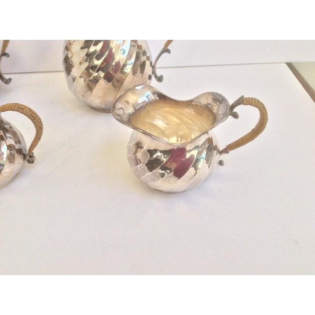 Purity Italian Silver Tea Service - Set of 4 - Image 6 of 11