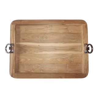 Arteriors Isla Large Wood Tray For Sale