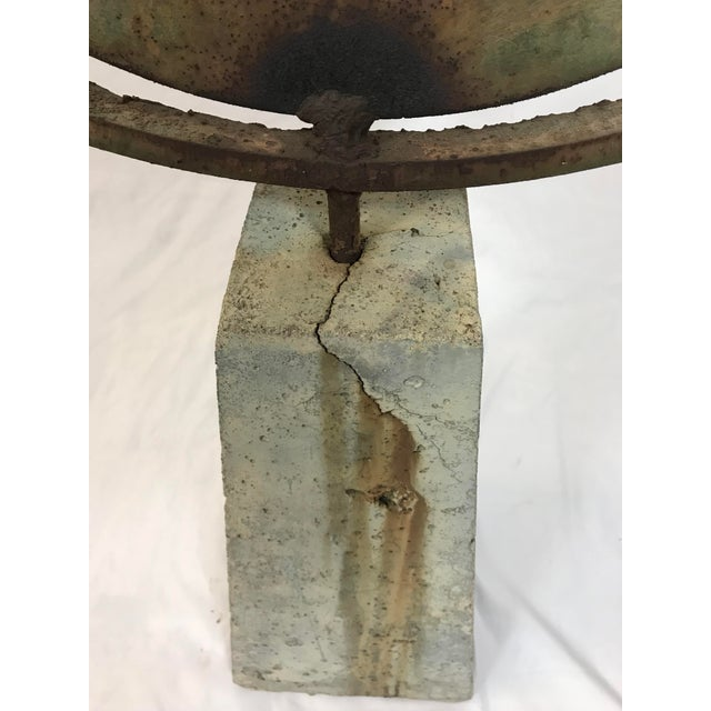 Contemporary Steven Derks Upcycled Abstract Iron & Concrete Sculpture For Sale In Portland, OR - Image 6 of 8